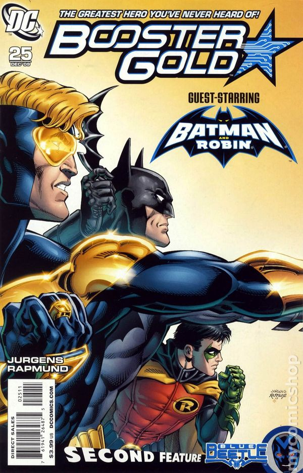 Booster Gold (2007 DC 2nd Series) #25