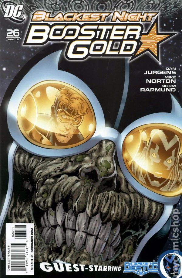 Booster Gold (2007 DC 2nd Series) #26A