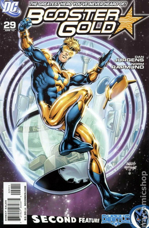 Booster Gold (2007 DC 2nd Series) #29