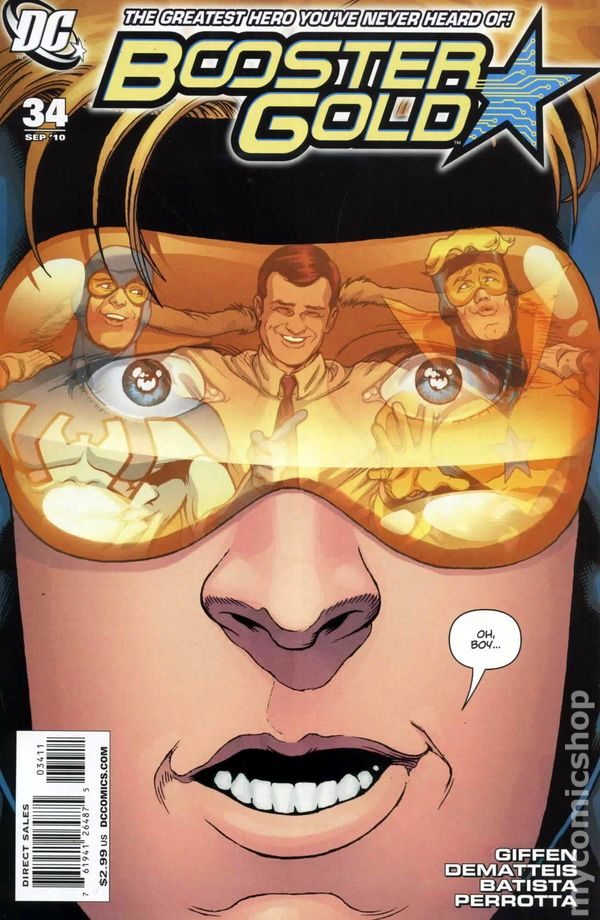 Booster Gold (2007 DC 2nd Series) #34