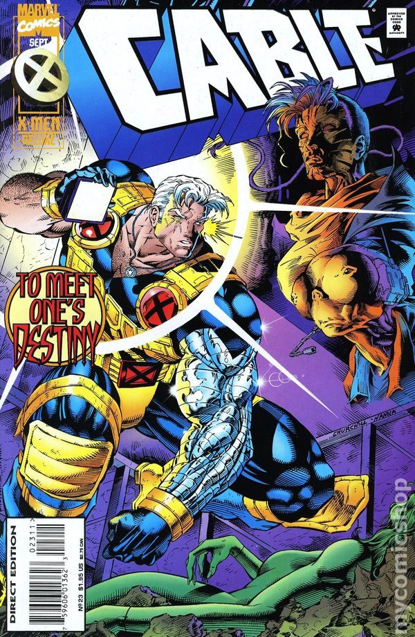 Cable (1993 1st Series) #23