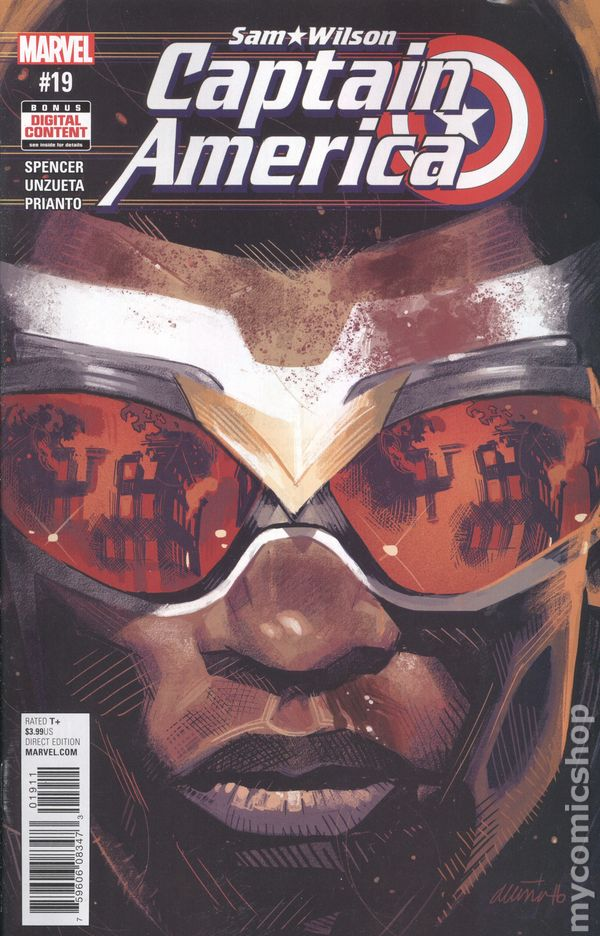 Captain America Sam Wilson (2015) #19
