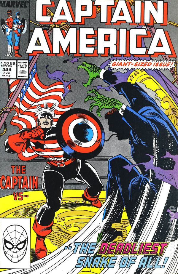 Captain America (1968 1st Series) #344