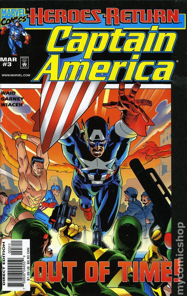 Captain America (1998 3rd Series) #3