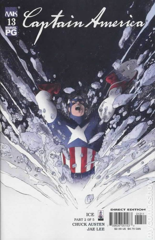 Captain America (2002 4th Series) #13
