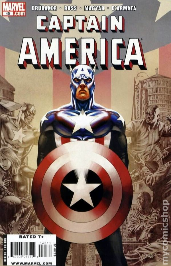 Captain America (2004 5th Series) #45A