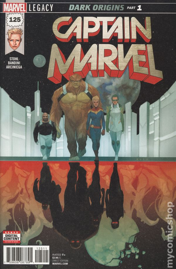 Captain Marvel (2017 10th Series) #125A