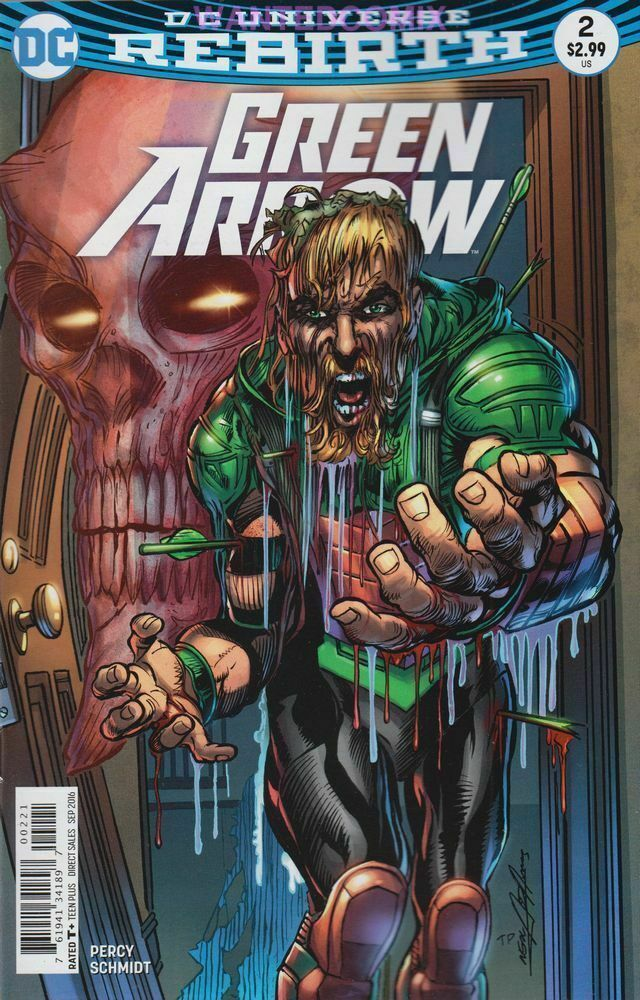 Green Arrow (2016-) #2 (Rebirth) (Variant Cover)