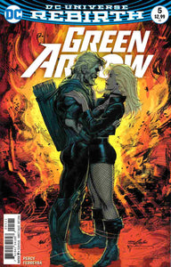 Green Arrow (2016-) #5 (Rebirth) (Variant Cover)