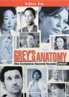 Grey's Anatomy The Complete Second Season Uncut *USED*