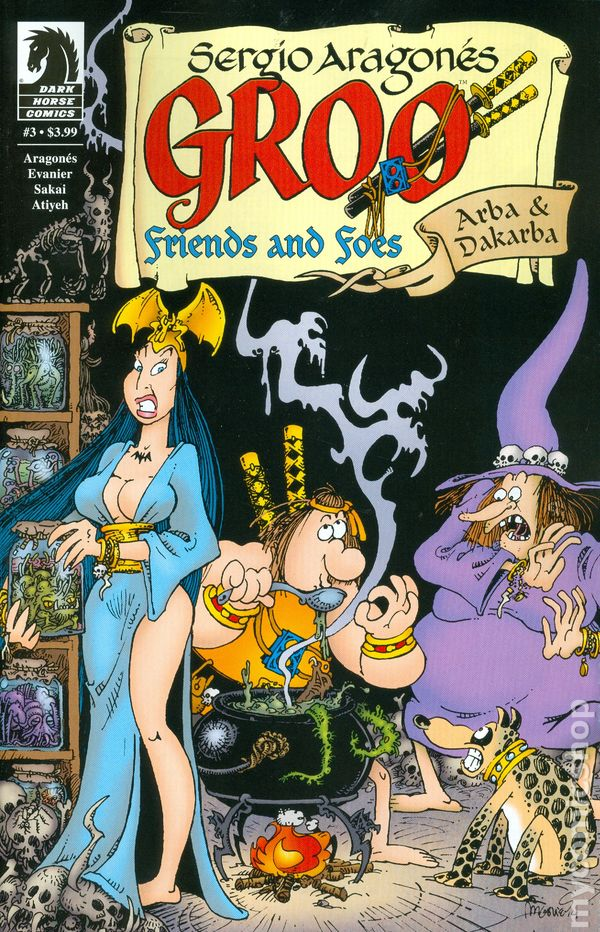 Groo Friends and Foes (2014) #3