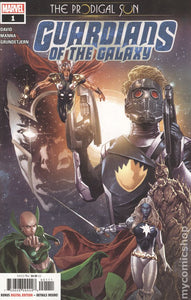 Guardians of the Galaxy Prodigal Sun (2019) #1A