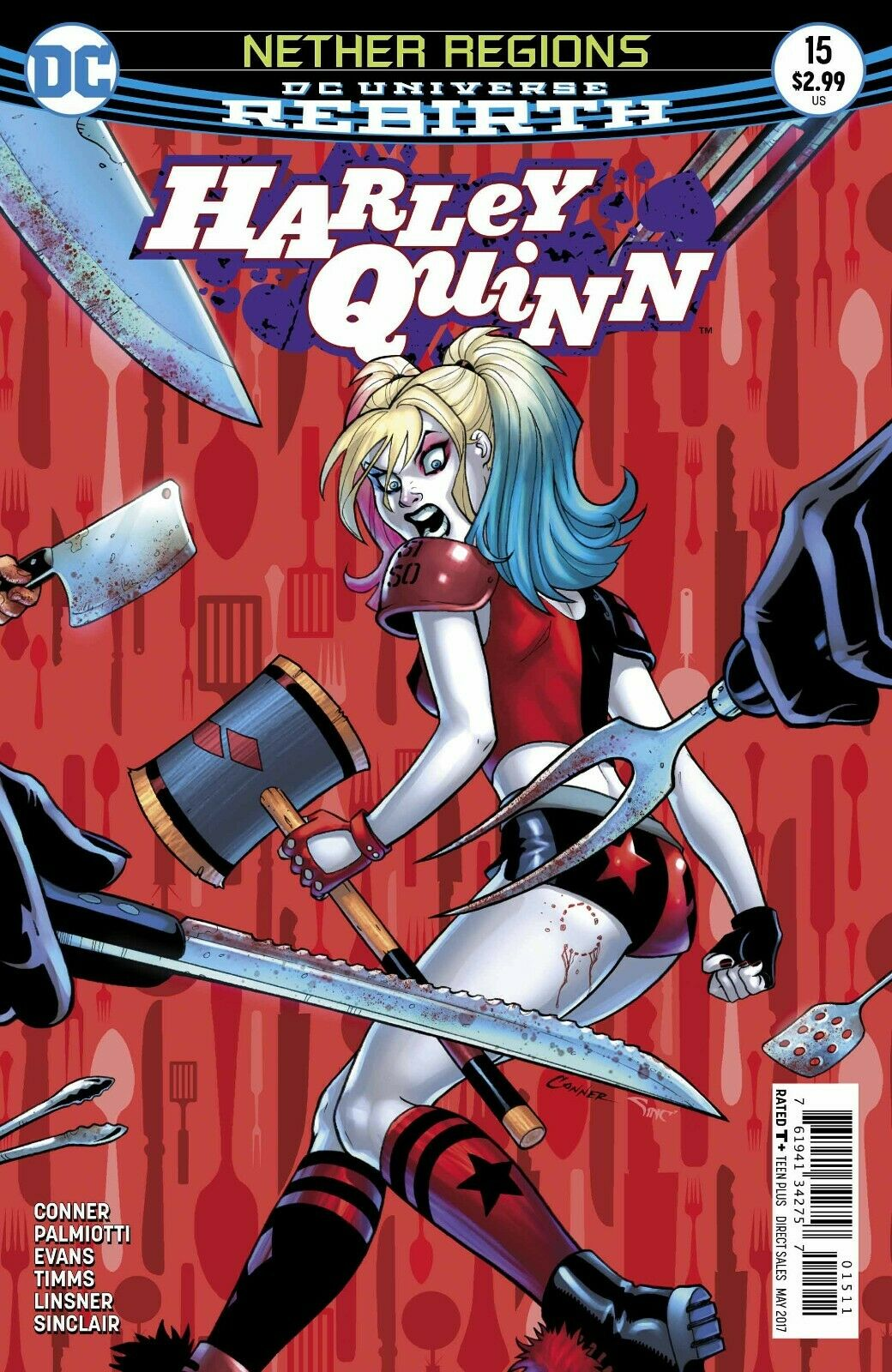 Harley Quinn (2013- ) #15 (Rebirth) (Variant Cover)