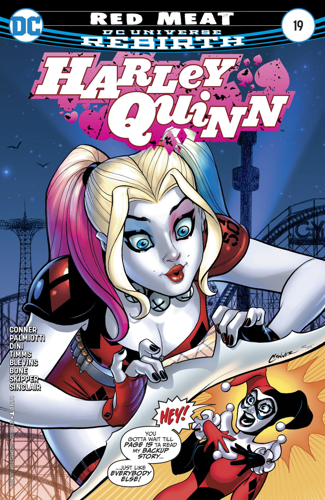 Harley Quinn (2013- ) #19 (Rebirth) (Variant Cover)
