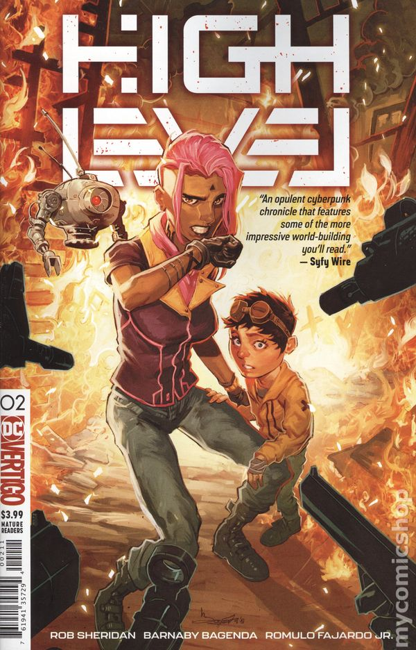 High Level (2019 DC/Vertigo) #2