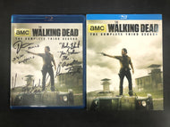 The Walking Dead Complete Third Season Blu-Ray *SIGNED*