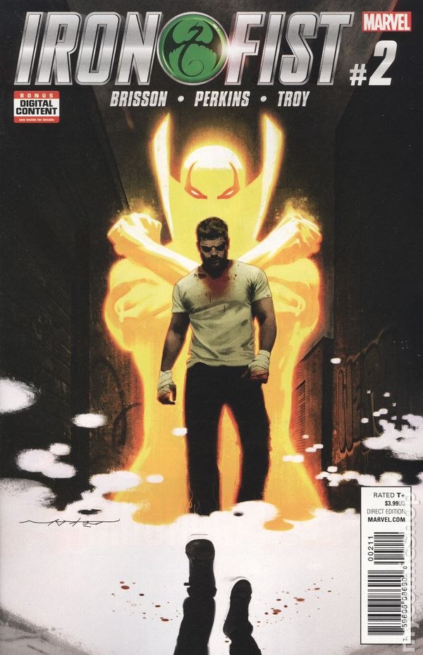 Iron Fist (2017 5th Series) #2A