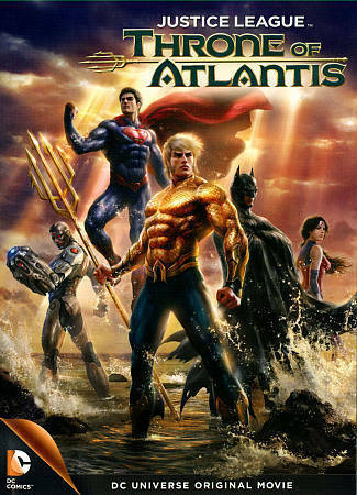 Justice League Throne of Atlantis (Blue-Ray+DVD+Digital HD)