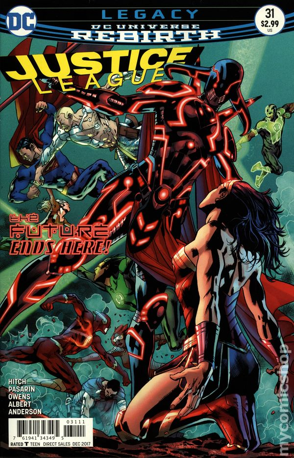 Justice League (2016) #31A (Rebirth)