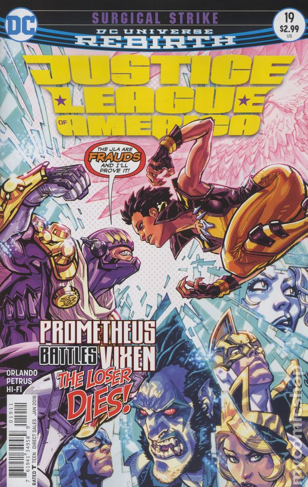 Justice League of America (2017) #19A (Rebirth)