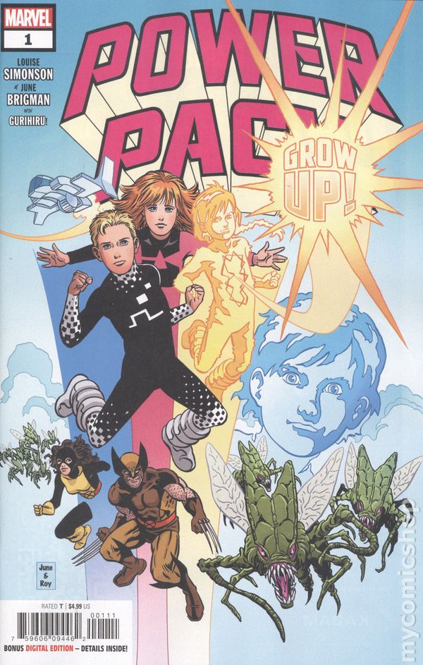 Power Pack Grow Up (2019 Marvel) #1A