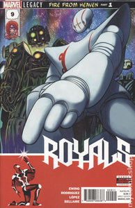 Royals (2017 Marvel) #9A