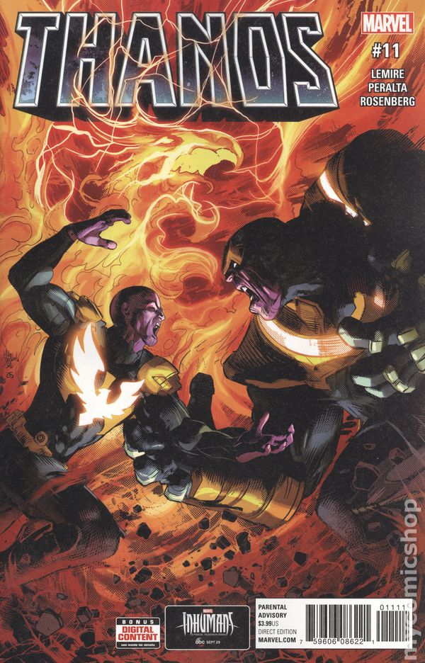 Thanos (2016 Marvel) #11A