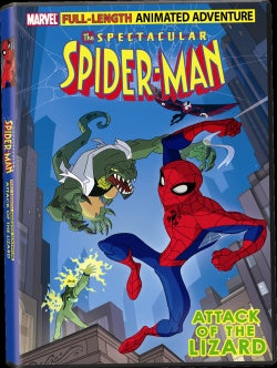 The Spectacular Spider-Man Attack of the Lizard (DVD)