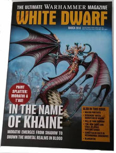 White Dwarf March 2018