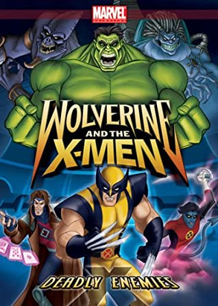 Wolverine and the X-Men Deadly Enemies (DVD)