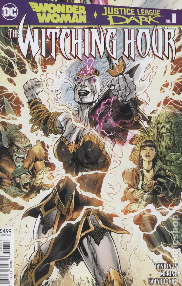 Wonder Woman and Justice League Dark The Witching Hour (2018) #1A