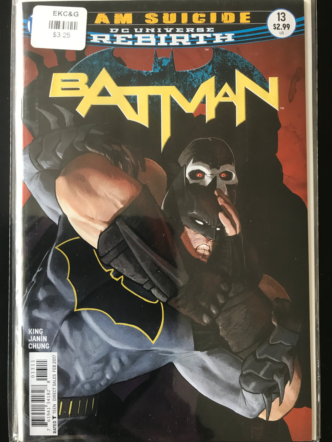 Batman (2016 3rd Series) #13A Rebirth