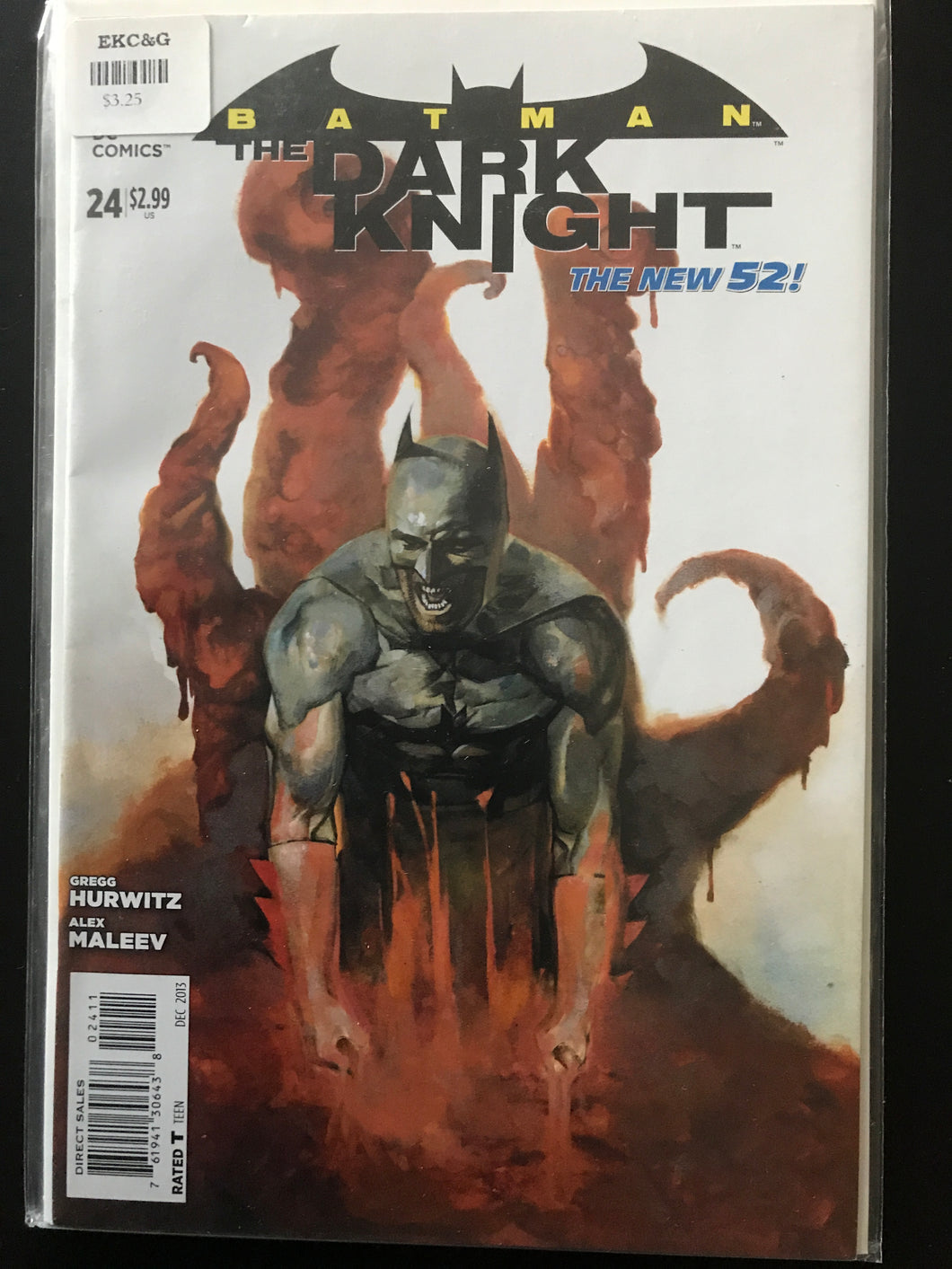 Batman The Dark Knight (2011 2nd Series) #24A