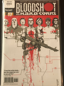 Bloodshot and Hard Corps (2012 3rd Series) #17A