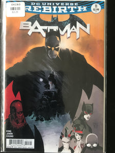 Batman (2016 3rd Series) #11B Rebirth