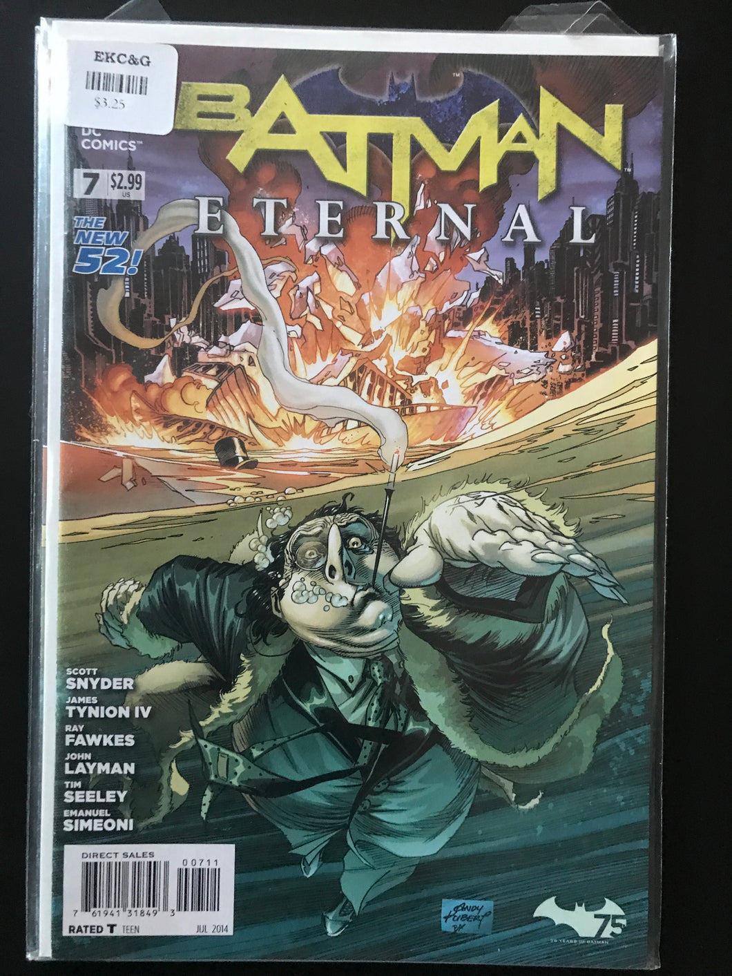 Batman Eternal (2014) #7
