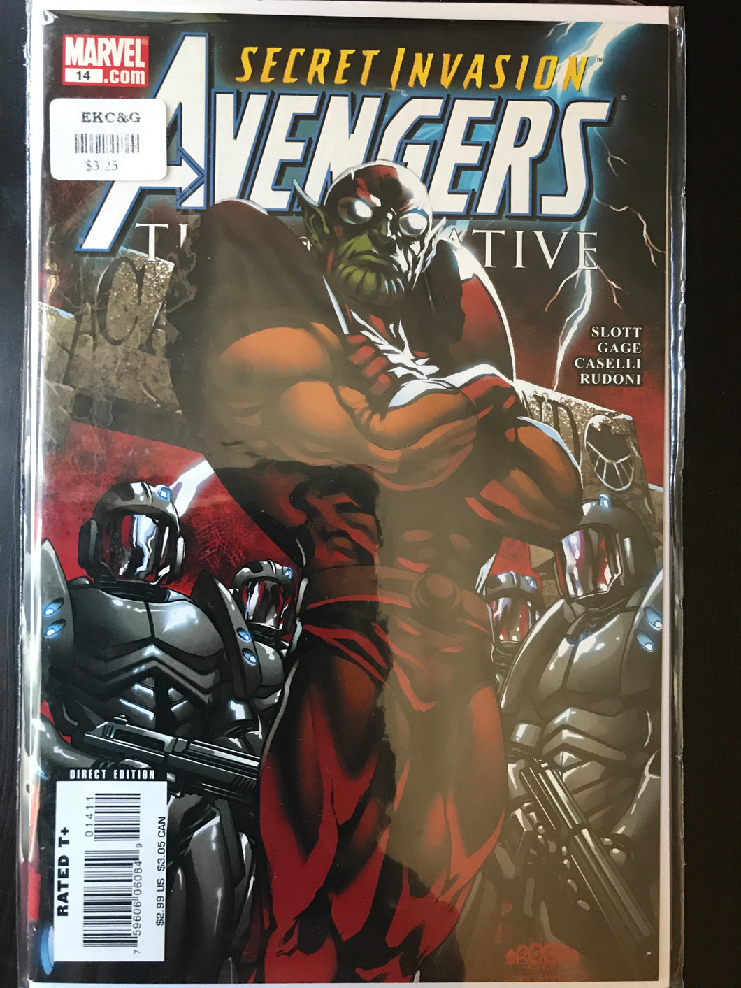 Avengers The Initiative (2007-2010 Marvel) #14A