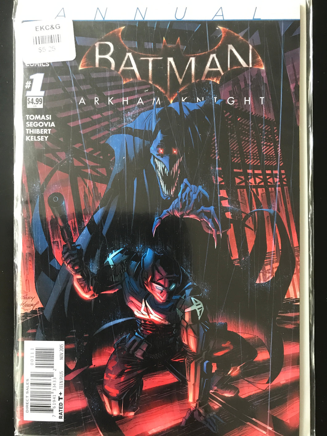 Batman Arkham Knight (2015) Annual #1