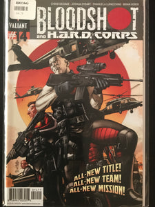 Bloodshot and Hard Corps (2012 3rd Series) #14A