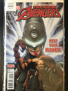 New Avengers (2015 4th Series) #2A