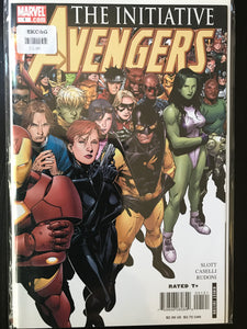 Avengers The Initiative (2007-2010 Marvel) #1B
