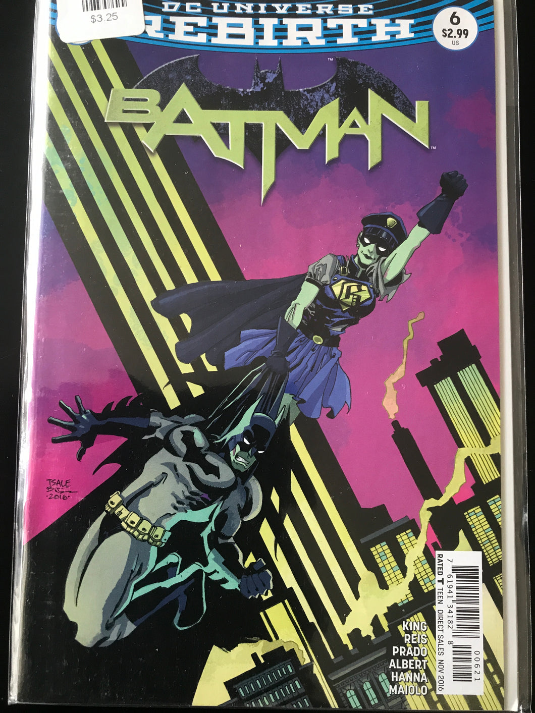 Batman (2016 3rd Series) #6B Rebirth