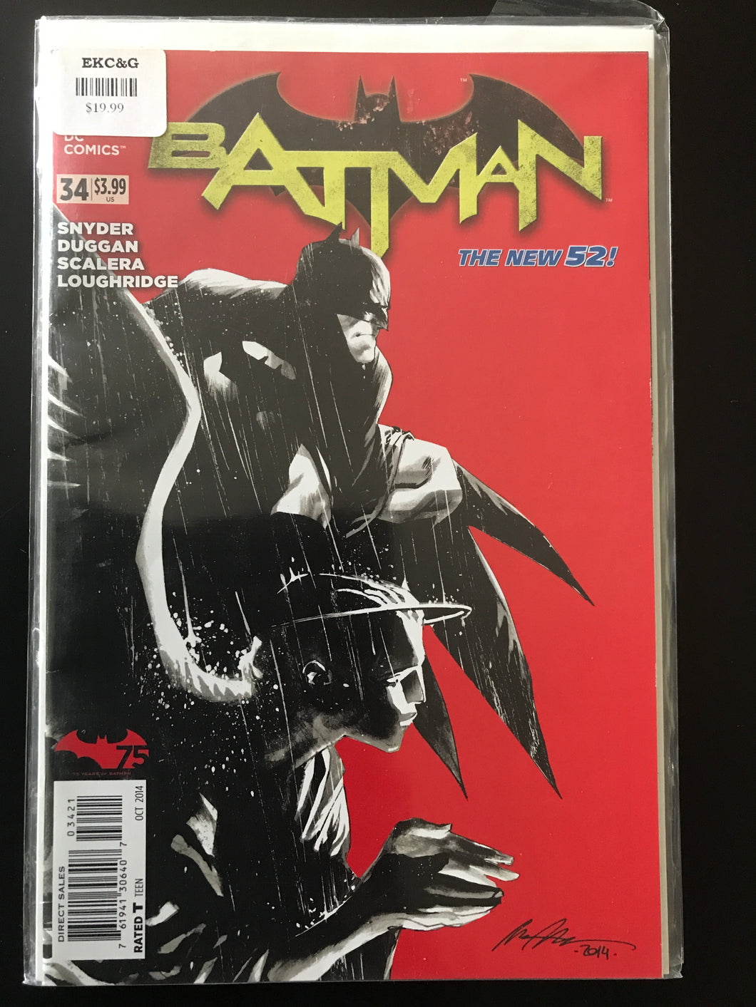 Batman (2011 2nd Series) #34C