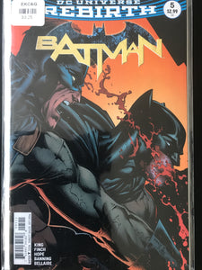 Batman (2016 3rd Series) #5A Rebirth