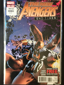 New Avengers (2010 2nd Series) #34A