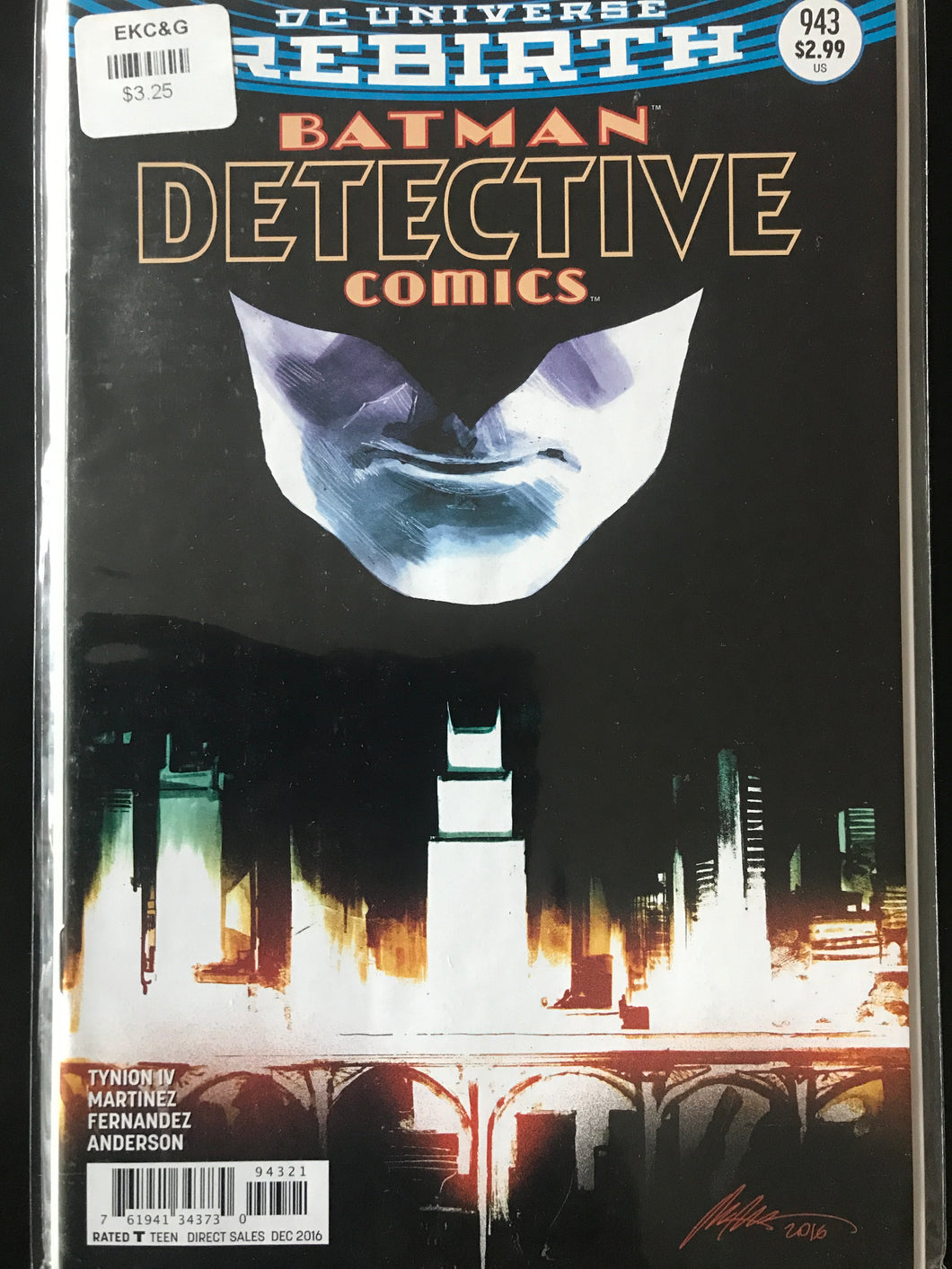 Detective Comics (2016 3rd Series) #943B (Rebirth)