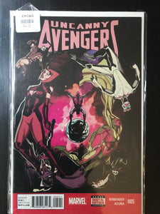 Uncanny Avengers (2014 Marvel) 2nd Series #5A