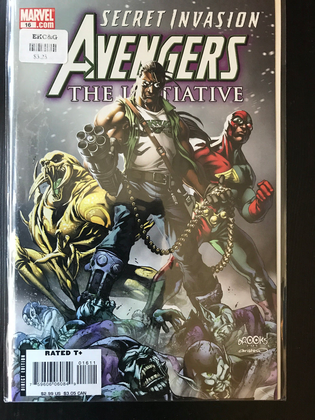 Avengers The Initiative (2007-2010 Marvel) #16