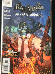 Batman Arkham Unhinged (2012) #13