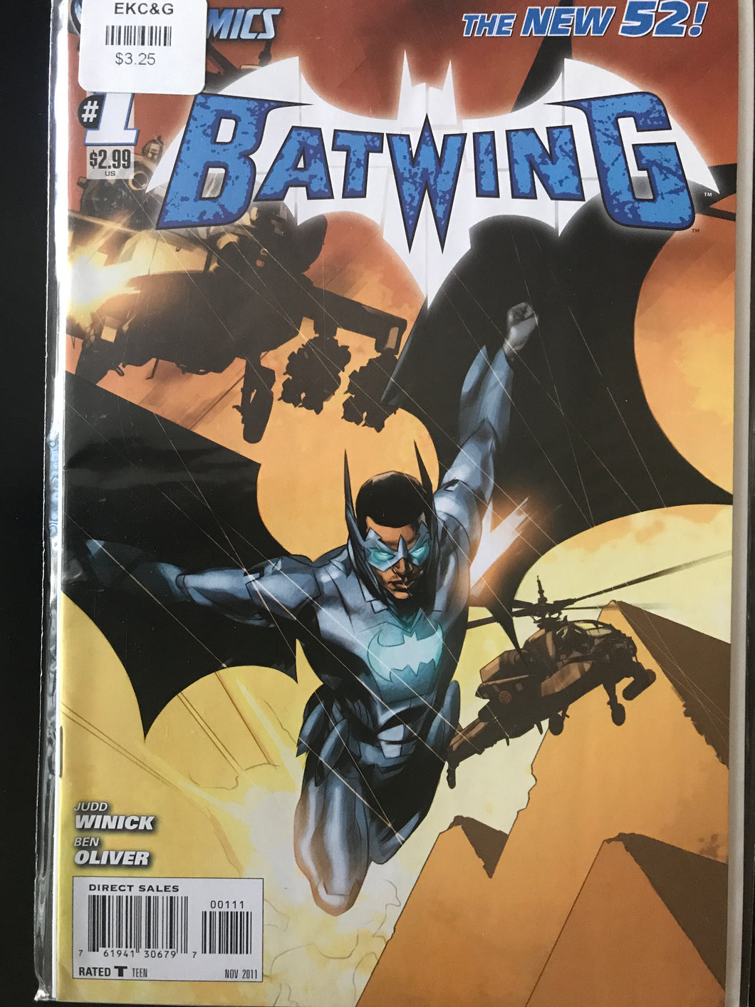 Batwing (2011) #1A
